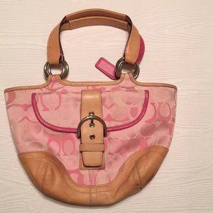 Coach satchel Pink Pocketbook